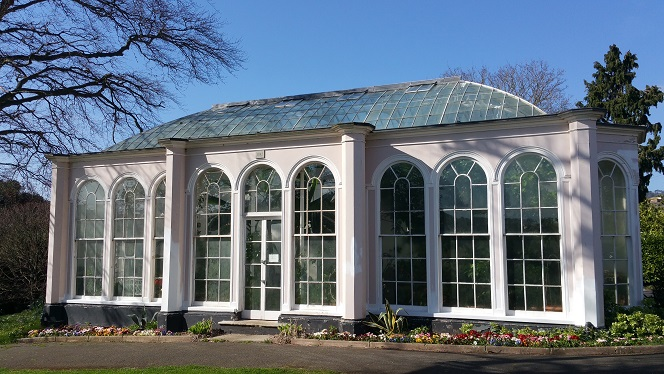 Historic Orangery in Bitton Park