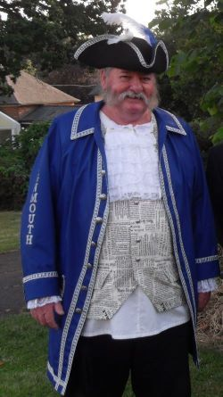 Photo of Patrick Brophy, Town Crier